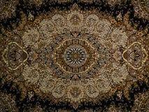 Persisk matta, modell Royal Palace för persisk matta, persisk matta med en invecklad design fotografering för bildbyråer