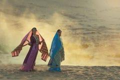 Persiska kvinnor Arkivbild