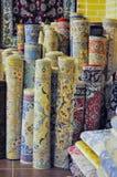 Persiska mattor i Iran Royaltyfri Bild