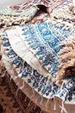 persiskt qalamkar traditionellt för hemslöjd Royaltyfri Bild
