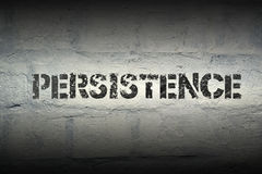 Persistence WORD GR Royalty Free Stock Photo