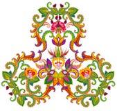 Perski dywanika element - księżyc narodziny Zdjęcie Stock