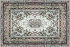Perskiego dywanu tekstura, abstrakcjonistyczny ornament Round mandala wzór, Bliskowschodnia Tradycyjna Dywanowa tkaniny tekstura  Obraz Royalty Free