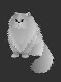 Perskiego kota wektoru ilustracja Zdjęcia Royalty Free