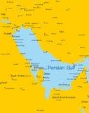 Perskiej zatoki kraje Obraz Royalty Free