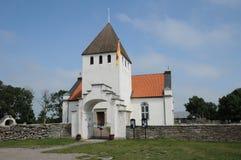 Persnas老和美丽如画的教会  免版税库存图片