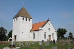 Persnas老和美丽如画的教会  免版税库存照片