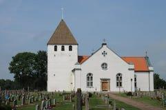 Persnas老和美丽如画的教会 图库摄影