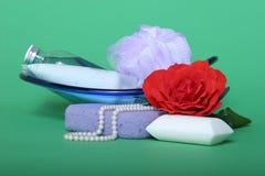 Persönliche Hygiene Stockfoto