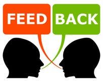Persönliches Feed-back Stockbilder