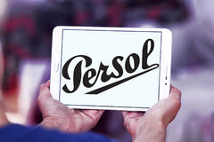 Persol-Firmenlogo Stockfotos