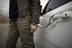 Handcuff Stock Photo