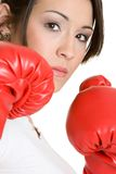 Person Boxing Stock Photography