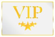 Person Card muito importante Imagens de Stock Royalty Free