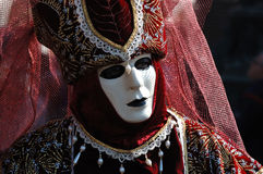 Person in costume, venice carnival 2011 Royalty Free Stock Photography