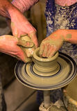 Person Creation Pottery Fotografie Stock