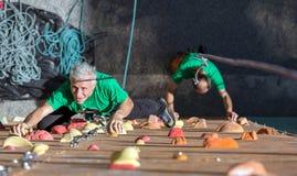 Person Doing Extreme Sport envejecido Foto de archivo