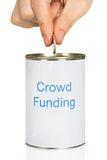 Person Donating Money Royalty Free Stock Photo