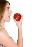 Person Eating Healthy Stock Image
