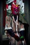 Person in einem Halloween-Kostüm Lizenzfreie Stockfotos