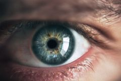 Person Eye royalty free stock image