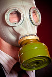 Person in a gas mask Royalty Free Stock Photography