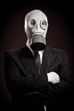 Person in a gas mask Stock Photography