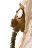 Person in gas mask Royalty Free Stock Photo