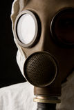 Person in gas mask Royalty Free Stock Images