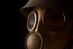 Person in gas mask Stock Photos