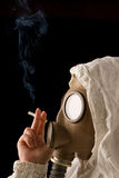 Person in gas mask Royalty Free Stock Photography