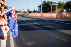 2018 Commonwealth Games Marathon Images Stock Photo