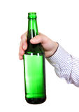 Person holding Beer Bottle Stock Photography