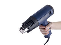 Person holding a blowtorch Stock Images