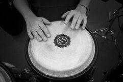 Person Holding Drums Royalty Free Stock Photo