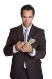 Person Holding Money Royalty Free Stock Photography