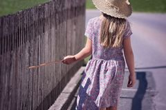 Person, Human, Child, Girl, Summer Royalty Free Stock Images