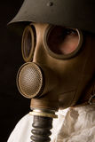 Person In Gas Mask Stock Images