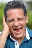 Person Laughing bello fotografie stock libere da diritti
