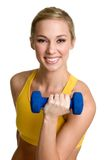 Person Lifting Weights Royalty Free Stock Image
