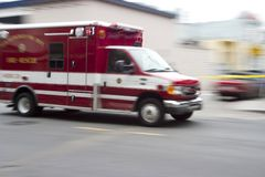 person med paramedicinsk utbildning 3 Royaltyfria Foton