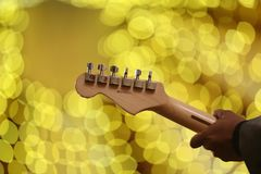 Person Playing Guitar Stock Images