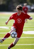 Person Playing Soccer Royalty Free Stock Photos
