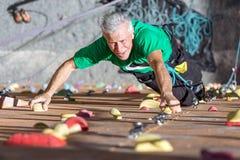 Person Practicing Extreme Sport envejecido Imágenes de archivo libres de regalías