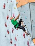 Person Practicing Extreme Sport envejecido Imagen de archivo