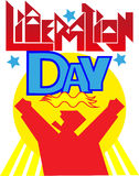 Liberation Day Royalty Free Stock Photography
