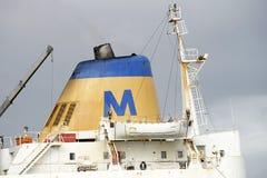 36 Person Rettungsboot an Bord der SS MAUI Stockbilder