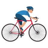 person riding a bike Royalty Free Stock Photo