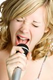 Person Singing Royalty Free Stock Photos