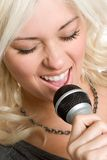 Person Singing Royalty Free Stock Image